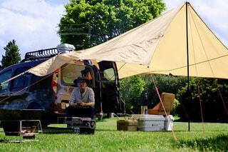 デイキャンプの写真・画像素材[4446239]