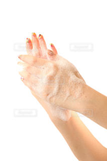 手洗いで救える命がありますの写真・画像素材[3205292]