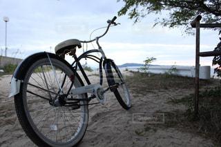 海,自転車,サイクリング,終点