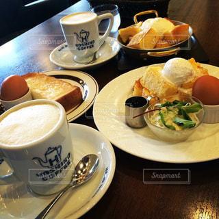 星の珈琲 日本 食べ物 朝ごはんの写真・画像素材[363085]