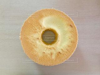 シフォンケーキの写真・画像素材[1223810]