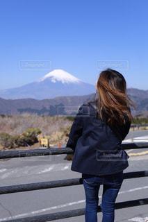 女性,自然,カメラ,富士山,屋外,かわいい,青空,晴天,散歩,山,女子,女の子,旅行,日本,ポートレート,箱根,友達,お散歩,一眼レフ,canon,大涌谷,お散歩日和,お天気