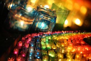キャンドルの灯りの写真・画像素材[2342559]