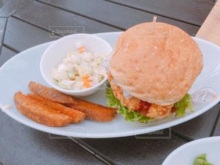 ハンバーガーの写真・画像素材[351862]