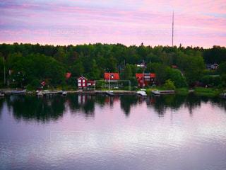 スウェーデン,川辺,pink