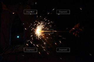 夜空の花火の写真・画像素材[1329689]