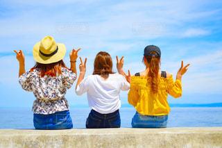 女性,綺麗,後ろ姿,女の子,キャンプ,可愛い,淡路島,最高