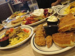 食べ物,アメリカ,フレンチトースト,ワッフル,フライドチキン,サンディエゴ,IHOP