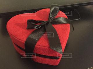 赤,プレゼント,ハート,チョコレート,バレンタイン