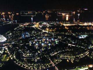 風景,夜景,海外,旅行,シンガポール,海外旅行,マリーナベイサンズ