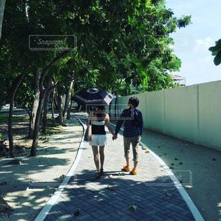 2人,フィリピン,お散歩,セブ島,おさんぽ,ツーショット