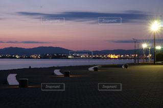 夜景,琵琶湖,滋賀県