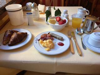 朝食,旅行,ホテル,ドイツ,エッセン,トップ CCL ホテル エッセナーホフ