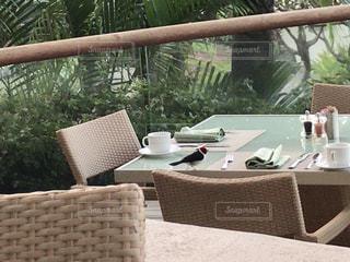 朝食,鳥,ハワイ,ハワイ島,テラス席,プリンスホテル
