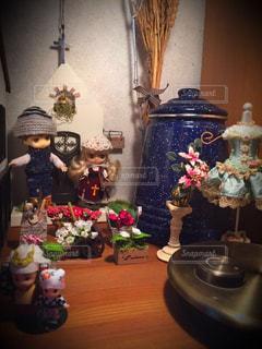 花,ミニチュア,教会,ドール,ブライス,ツーショット,オビツろいど,プチブライス
