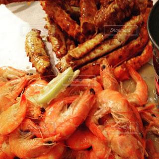 旅,ハワイ,Hawaii,エビ,魚介,クラッキンキッチン,CRACKIN KITCHEN,sea food