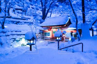 冬,雪,京都,神社,階段,雪山,観光,楽しい,旅行,貴船神社,出張,休み,ゴールデンウィーク,イメージ,貴船,鞍馬,予定,鞍馬山,名刺サイズ