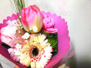 花,ピンク,花束,かわいい,綺麗,プレゼント,ブーケ,ホワイトデー