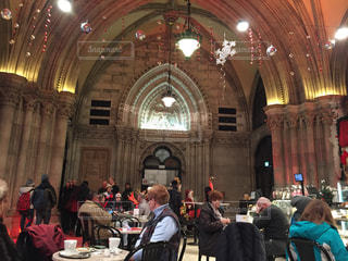 カフェ,冬,海外,室内,ヨーロッパ,お城,建造物,外国,クリスマス,柱,オーストリア,ウィーン,西洋,素敵,ウィーン市庁舎,ウィーン市庁舎のカフェ