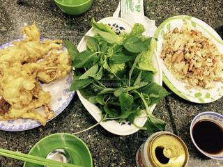 ベトナム,ホーチミン,パクチー,Quan 94 goc,ソフトシェルクラブ