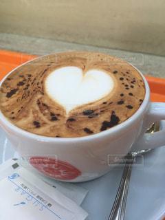 カフェ,コーヒー,ハート,カフェラテ,ラテアート