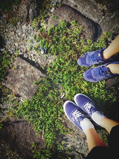 靴,友達,スニーカー,ツーショット