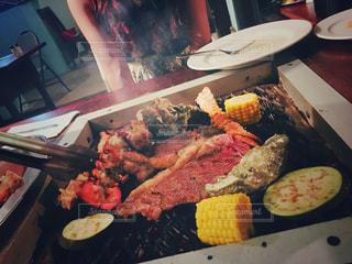 食事,海外,野菜,外国,旅行,肉,グアム,BBQ,夜ごはん,セイルズバーベキュー