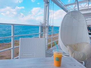 飲み物,カフェ,風景,ジュース,海辺,景色,オレンジ,淡路島,クラフトサーカス