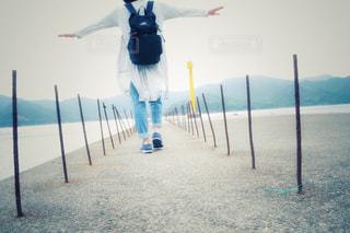 歩く,道,未来,ポジティブ,可能性