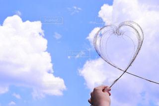 風景,空,雲,手,景色,ハート,未来,ポジティブ,可能性