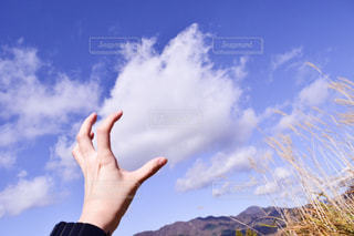 風景,雲,手,景色,未来,夢,ポジティブ,可能性