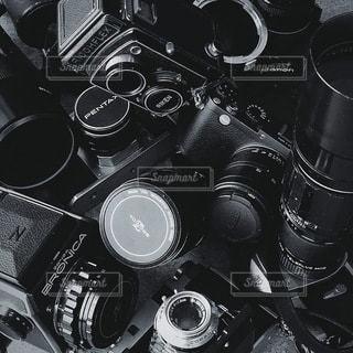 カメラのクローズアップの写真・画像素材[3387193]