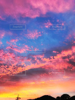 空には雲のグループ - No.958272