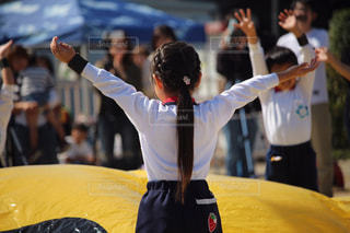 幼稚園最後の運動会の写真・画像素材[2104394]