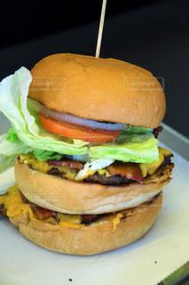 ハンバーガーの写真・画像素材[373231]