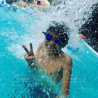 水遊びの写真・画像素材[673471]