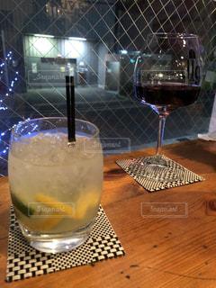 テーブル ワインのグラス - No.929304