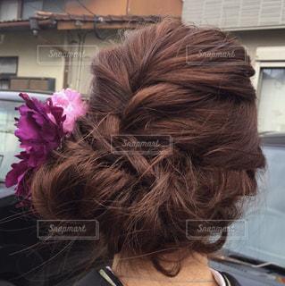 髪型の写真・画像素材[394219]