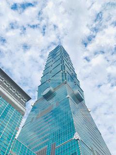 風景,海外,雲,青空,景色,台湾,海外旅行,台北101