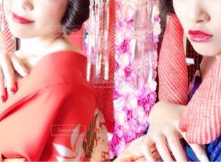 ドレスシャツとネクタイの少女 - No.850530