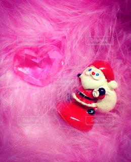 ピンクのぬいぐるみの写真・画像素材[869806]
