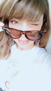 眼鏡人の写真・画像素材[1369698]