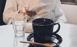 カフェの写真・画像素材[2077463]