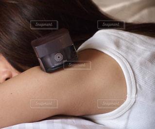 自撮りをしている女性の写真・画像素材[2920647]