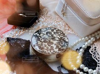 皿の上のケーキの写真・画像素材[3062259]