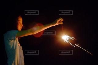 夏,かわいい,花火,女の子,ポートレート,光と影,ヘリオス44