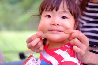 かわいい,子供,女の子,人,笑顔,ポートレート,ぽっちゃり,ほっぺた,ママと子供