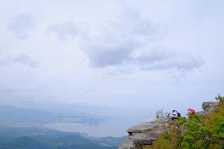 山のビューの写真・画像素材[1410112]