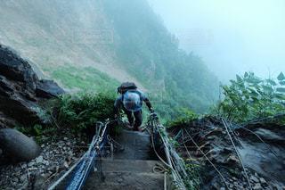 太田山神社の登山参拝の写真・画像素材[1419832]