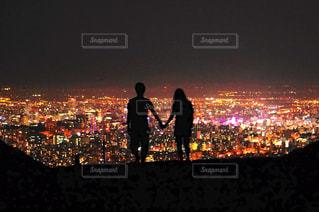 夜の街の写真・画像素材[1449377]